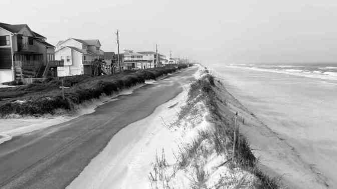 A Beach Project Built on Sand