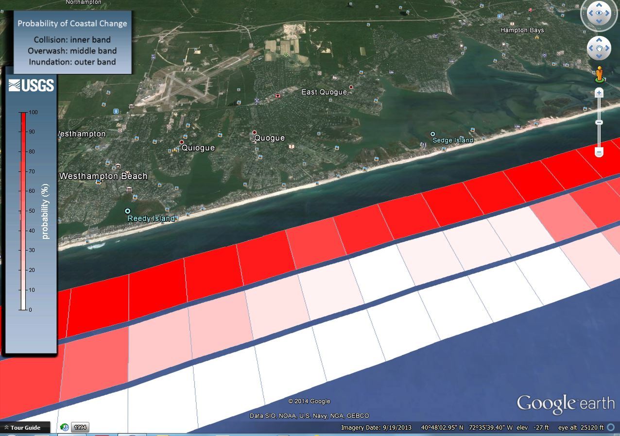 the issue of the erosion of long island s barrier beaches Coastal response to storms and sea-level rise: santa rosa island long-term erosion rates for the us mainland beaches, some small barrier islands to the.